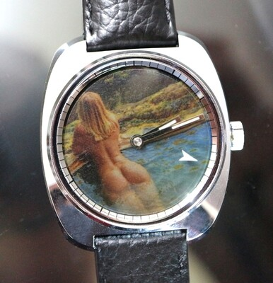 Erotik-Uhr Zurex Sujet 004