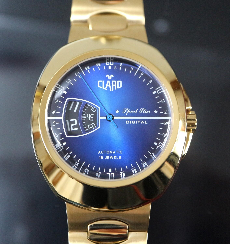 "CLARO Automatik ""Sport Star Digital"" Golden"
