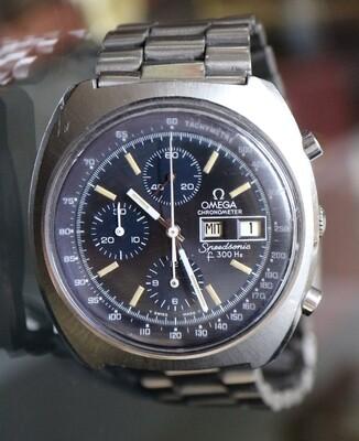 Omega F300 Hz Speedsonic, 70er Jahre
