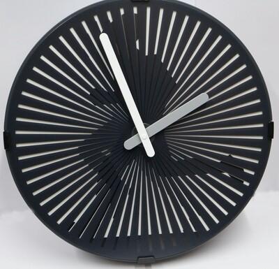 Quarz-Uhr Jogger - rotierende Scheibe erzeugt optischen Laufeffekt