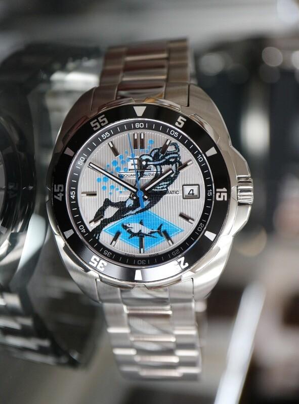 Taucheruhr Edouard Lauzières - Limitierte Edition - Diving - Automatik mit Datum