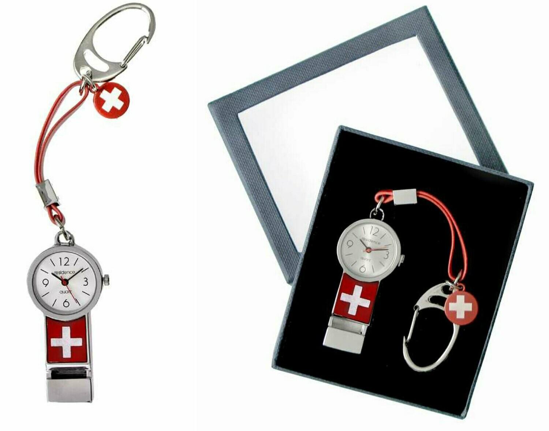 Schlüssel-Anhänger mit Uhr - Geschenkbox Pfeiffe