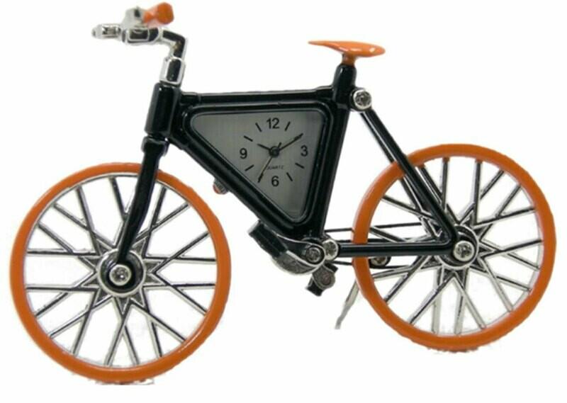 Miniatur-Uhr Fahrrad