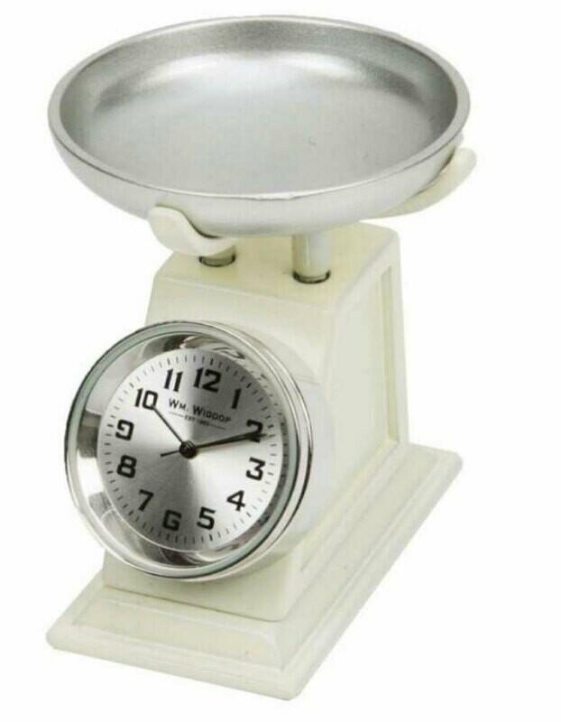 Miniatur-Uhr Waage