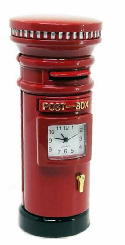 Miniatur-Uhr Postbox