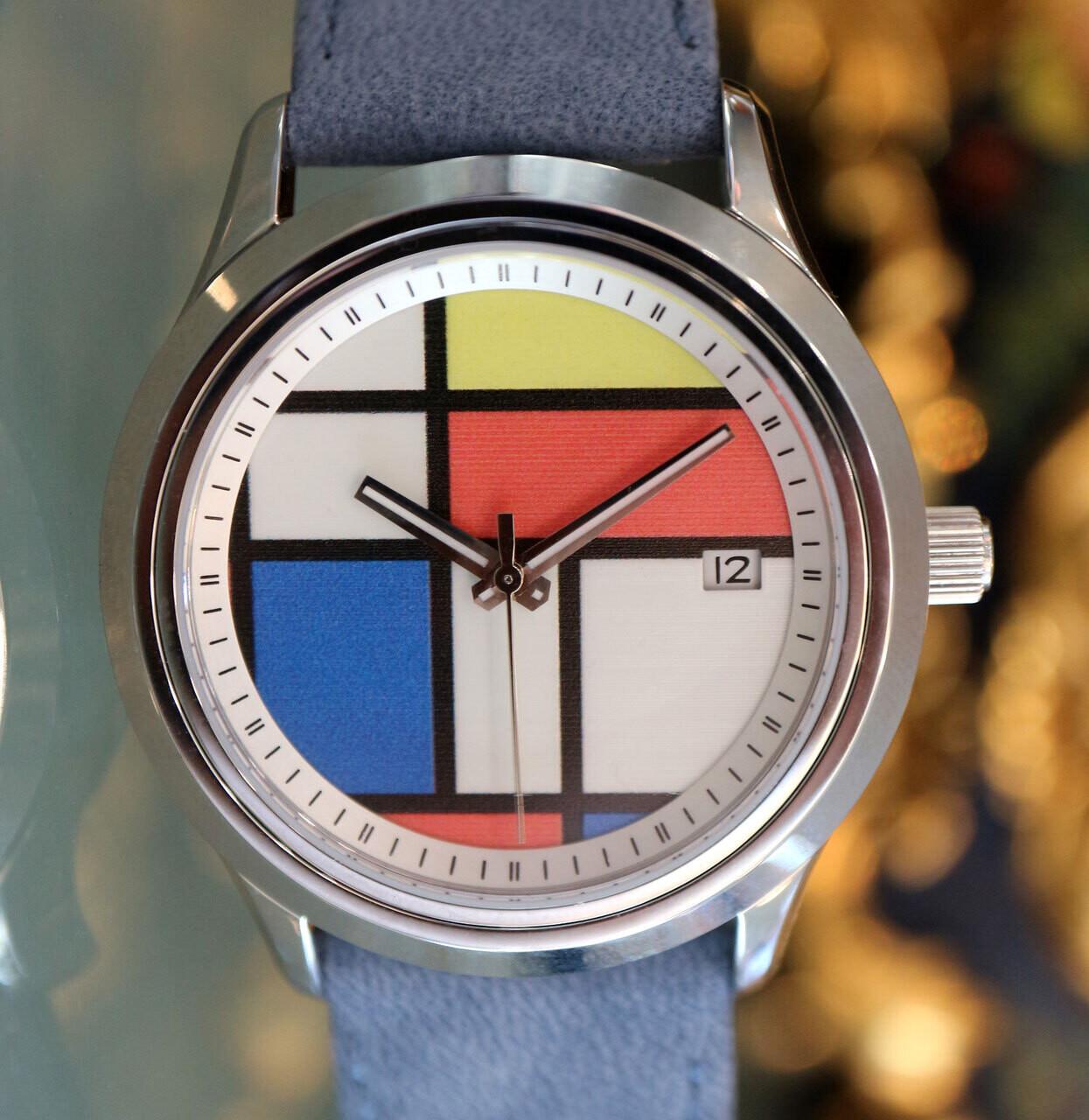 Personalisierte Armbanduhr, Schweizer Automatik-Werk