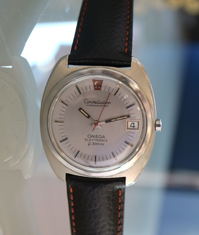 Omega Electronic f300 Hz Stimmgabel-Uhr, Constellation Chronometer
