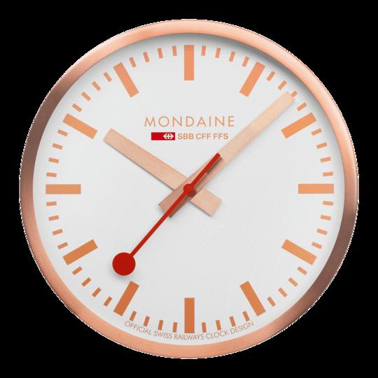 Modaine - WANDUHR - 25cm, bronzene Küchenuhr