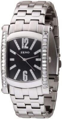 Zeno-watch - Banana Elegance Big Swarowski crystals