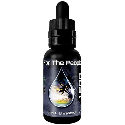 Dark CBD Tincture (1,200MG) 30ML Bottle