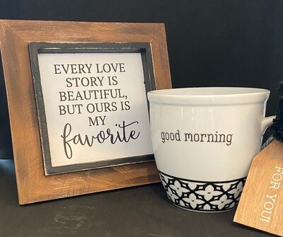 Every Love Story Good Morning Gift Set