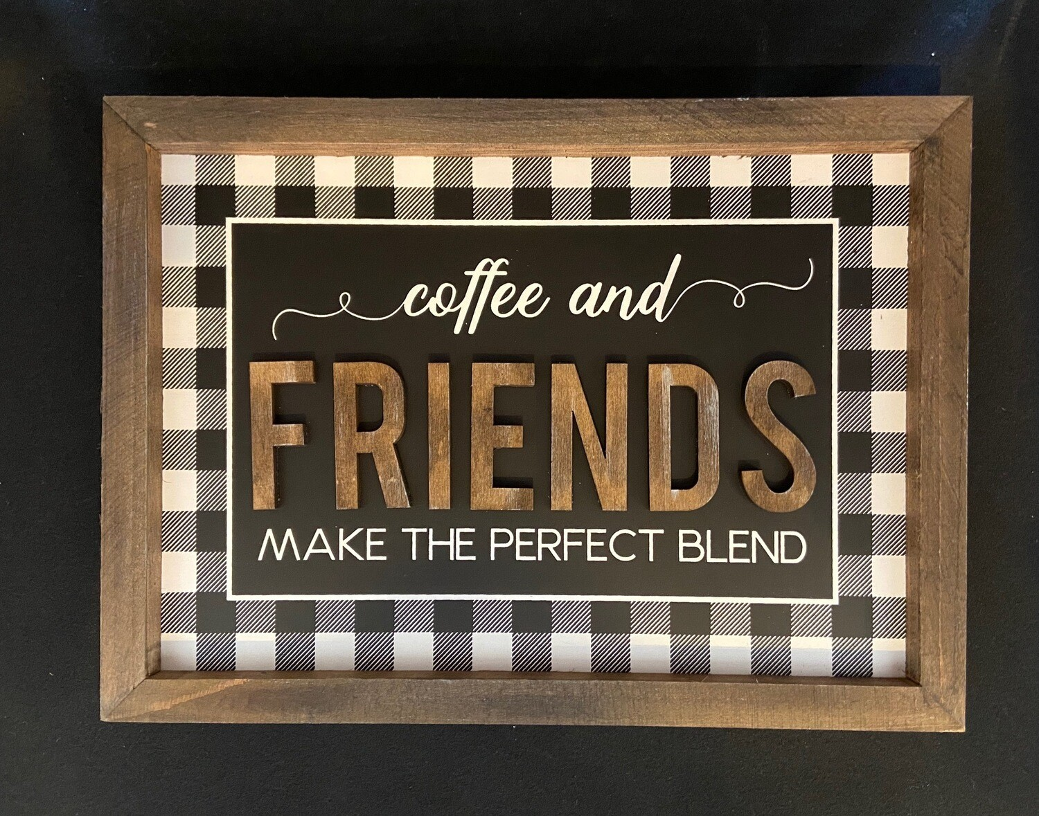 Coffee & Friends Sign