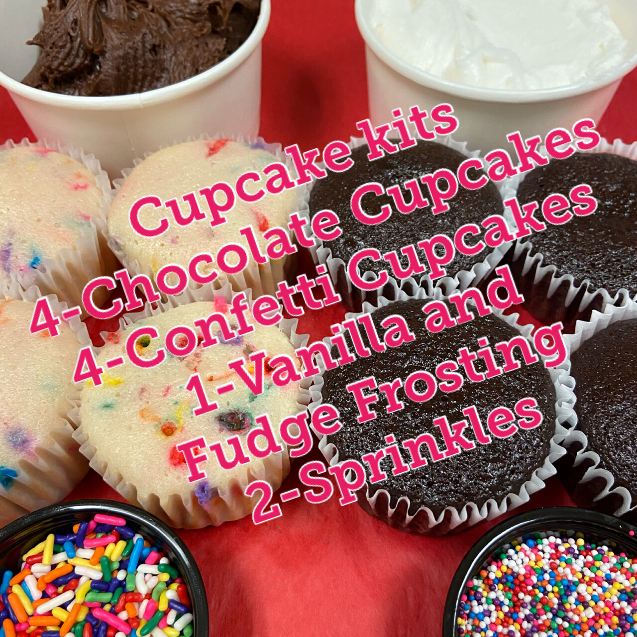 Cupcake Kits (available now)