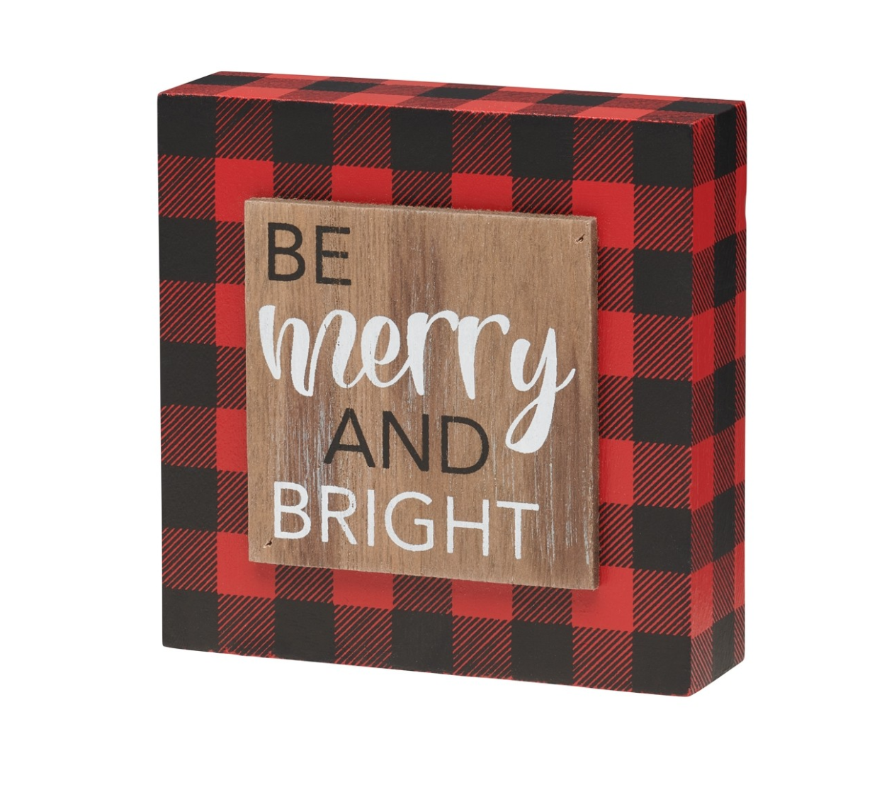 Be Merry and Bright - 3D Sign
