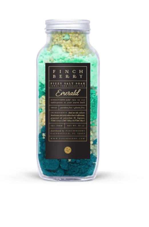 Fizzy Salt Soak -  Emerald