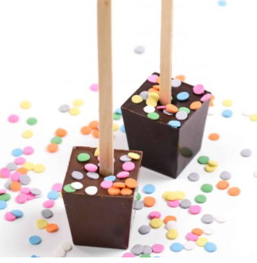 Hot Chocolate on a Stick - Happy Birthday Belgian Chocolate