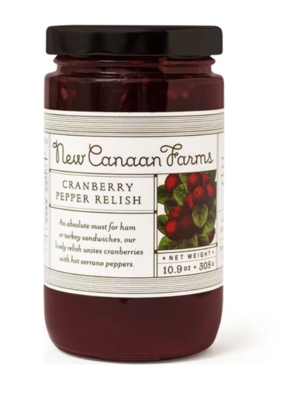 Cranberry Pepper Relish