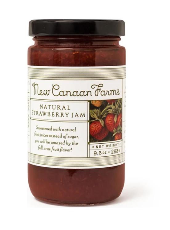 Natural Strawberry Jam