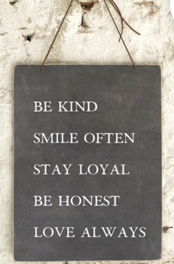 Be Kind Smile Often Sign