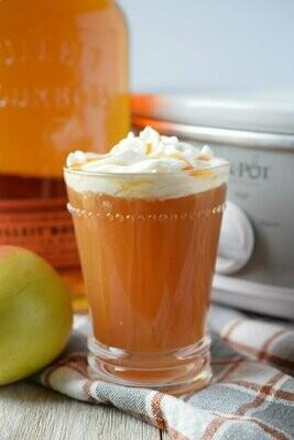 Hot Caramel Apple Cider 16 Oz