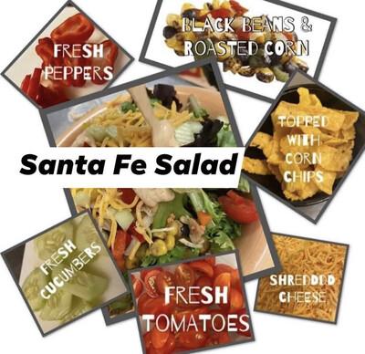 Santa Fe Salad wo/Grilled Chicken