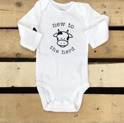 New to the Herd Newborn Long Sleeve