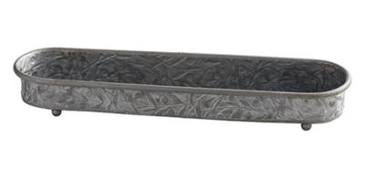 Ornate Iron Tray