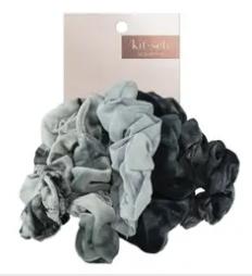 Slate Tie Dye Scrunchies