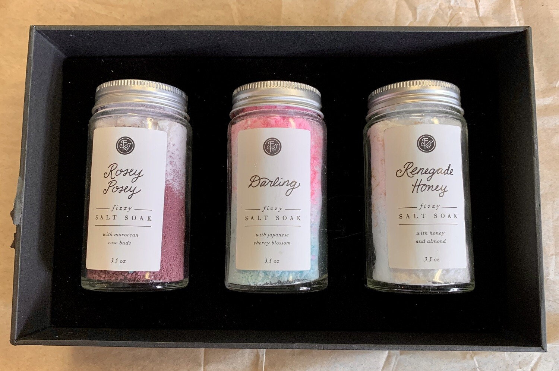 Fizzy Salt Soak Sampler Set