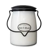 22oz Linen & Ashwood Butter Jar Candle
