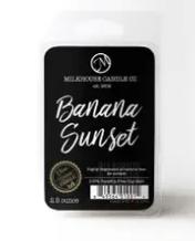 Small Fragrance Melts 2.5 oz Banana Sunset