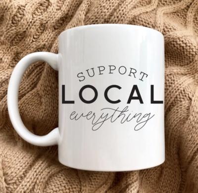 Support Local Everything Oversized Mug