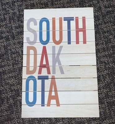 SOUTH DAKOTA Pallet sign