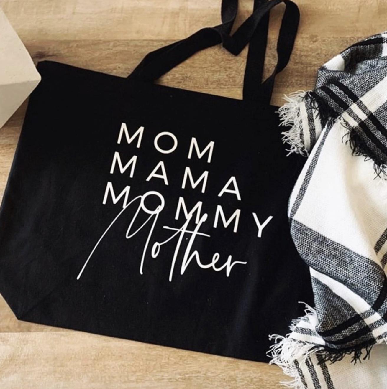 Mom Names Tote Bag