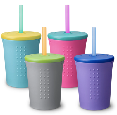 12 oz Straw Cup - Assorted Color