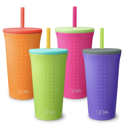 16 oz Straw Cups - Assorted Color