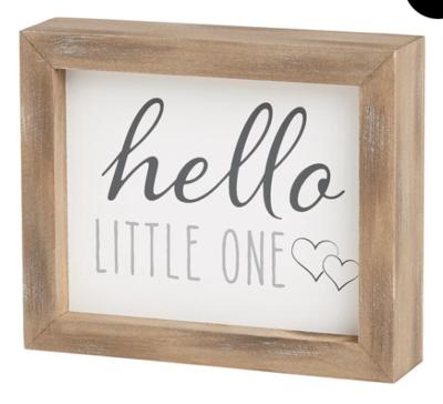 Little Ones Framed Sign