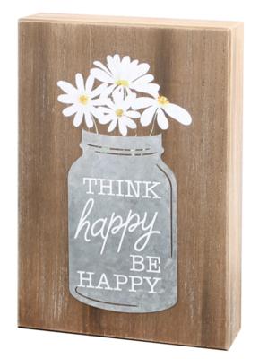 Think Happy Galv Box