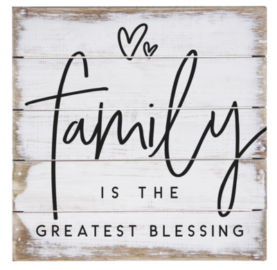 Family Blessing Hearts