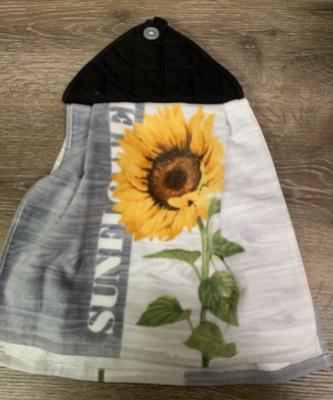Sunflower Black or Grey - Kitchen Towel