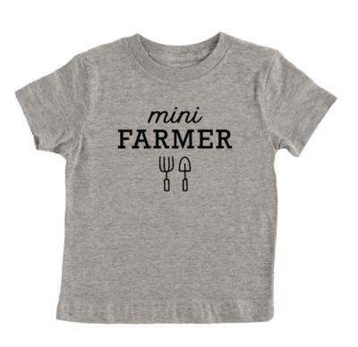 Mini Farmer Kids T-Shirt