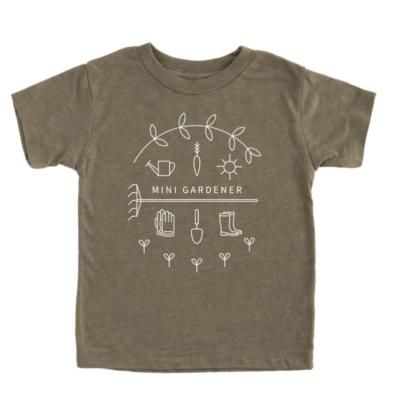 Mini Gardener Kids T-Shirt