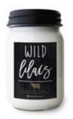 Wild Lilacs Farmhouse Mason Candle
