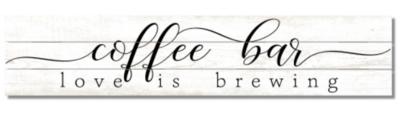 Coffee Bar Pine Pallet Sign