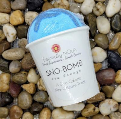 Bath Bomb - Raspberry Vanilla Sno Bombs