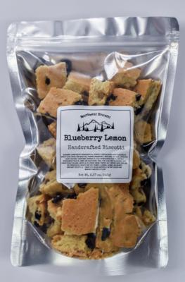 Blueberry Lemon Biscotti Bites