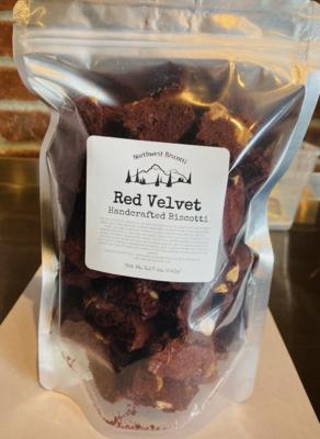 Red Velvet Biscotti Bites