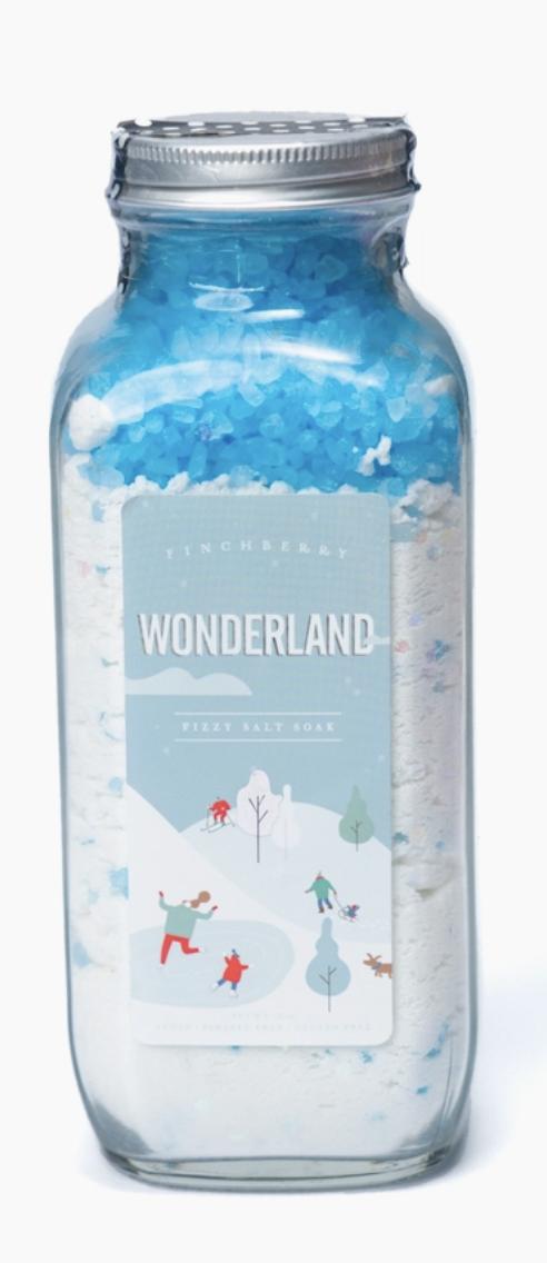 Holiday Edition Wonderland Fizzy Salt Soak
