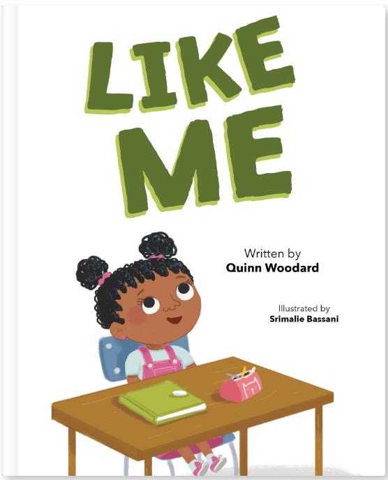 Like Me (Hardcover) by Quinn Woodard
