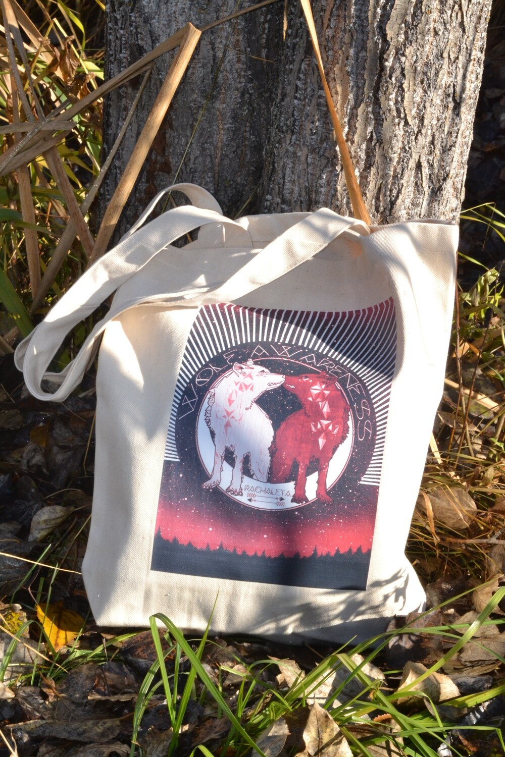 Two Wolves TOTE BAG